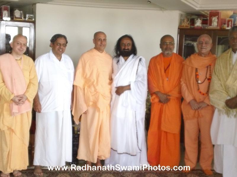Radhanath Swami at Yoga Conference