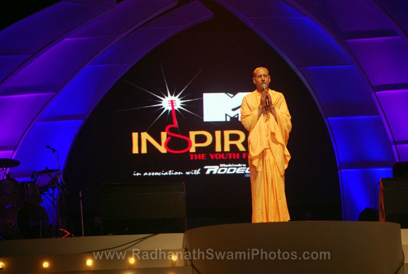 Radhanath Swami at Inspiro Event