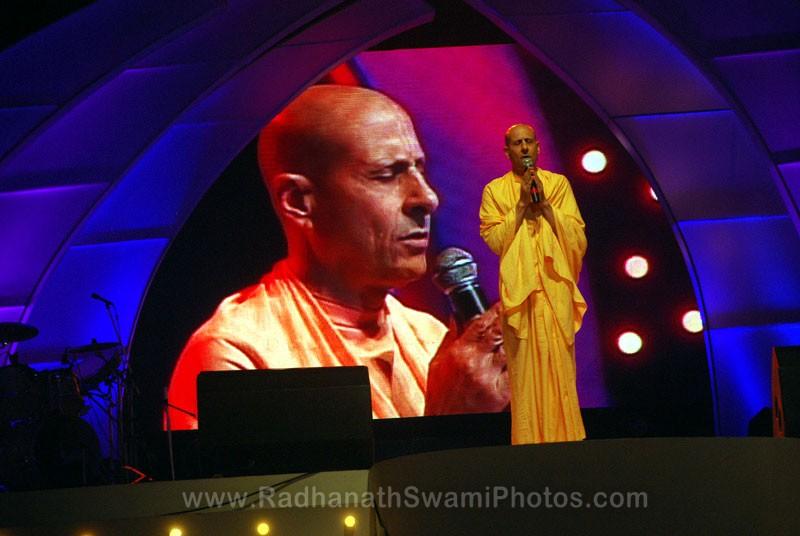 Radhanath Swami at Inspiro Youth Festival