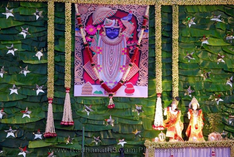 Srinathji Darshan at Birla House