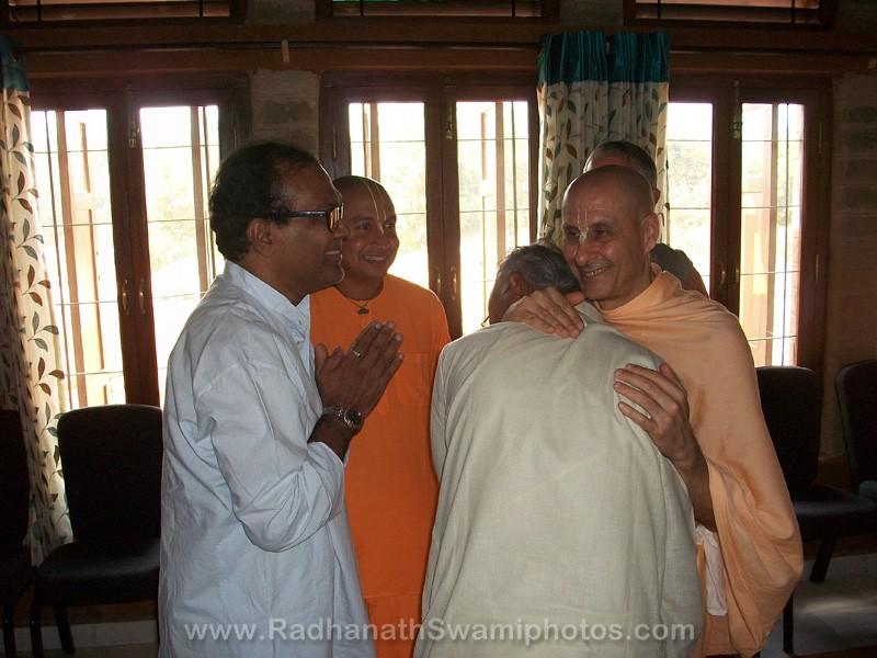 Radhanath Swami at Govardhan Ashram