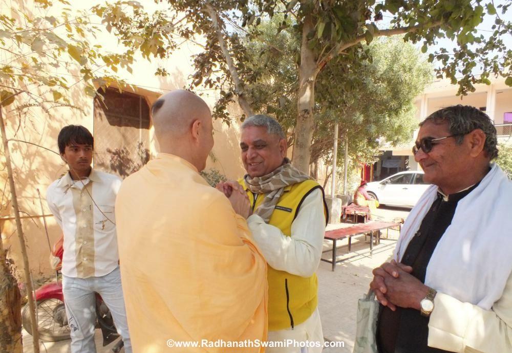 Radhanath Swami in Barsana
