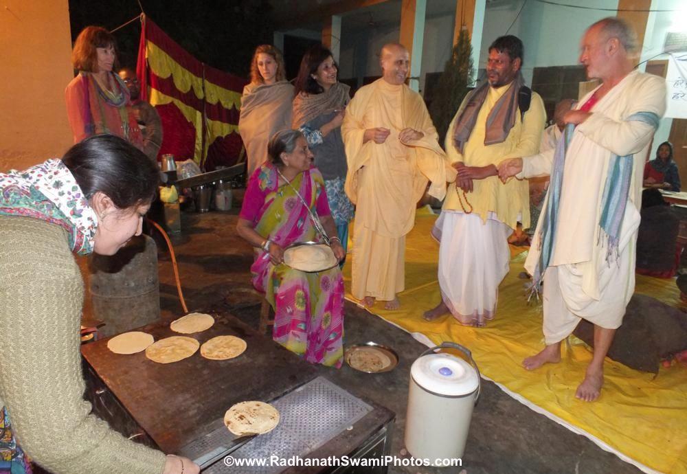 Radhanath Swami at Barsana Eye Camp