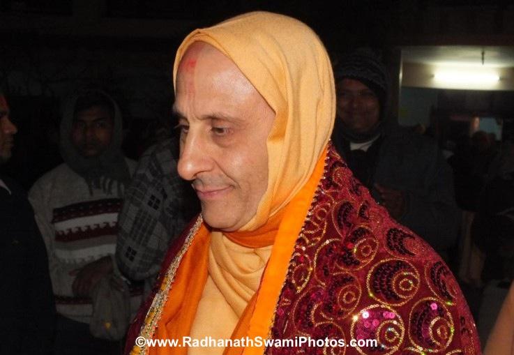 Radhanath Swami at Barsana