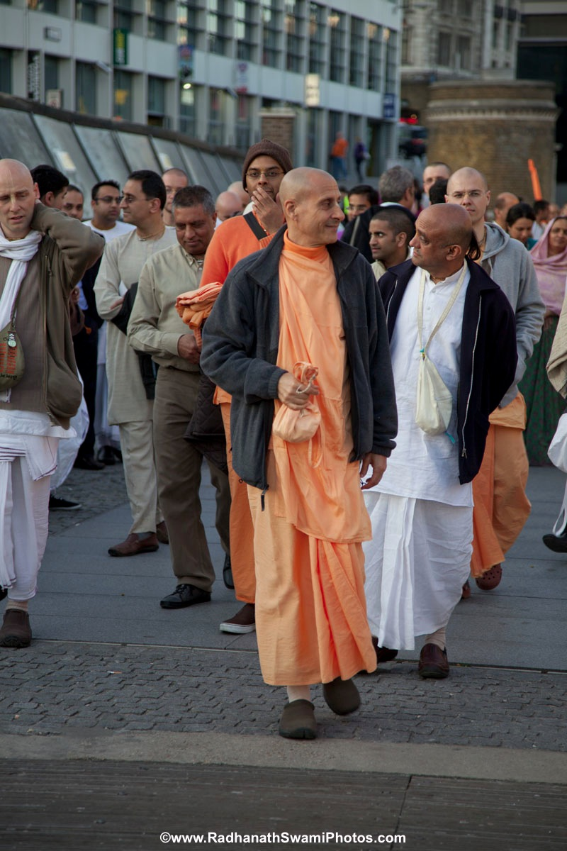 Swami Radhanath in London