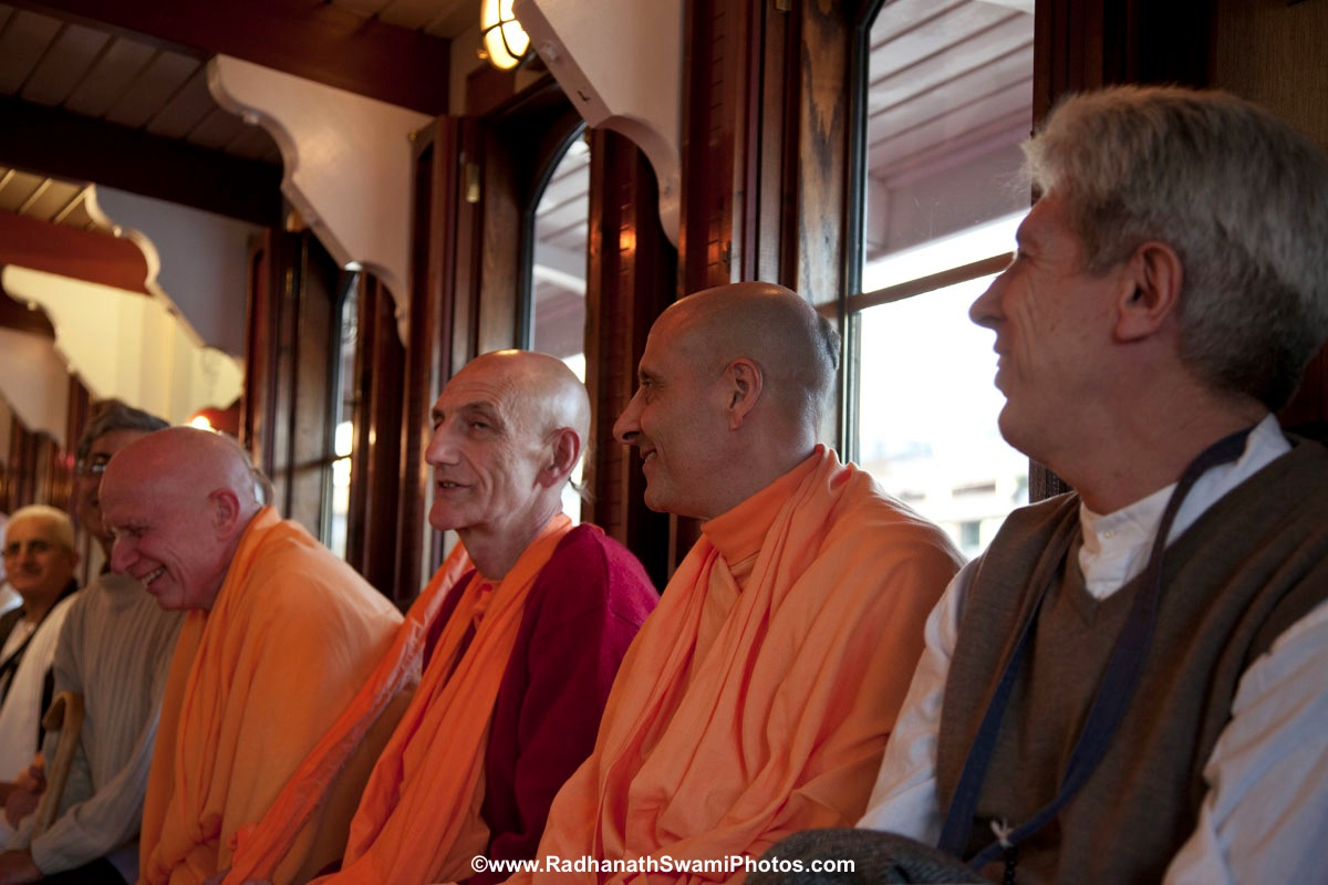 Radhanath Swami - Boat Trip in London