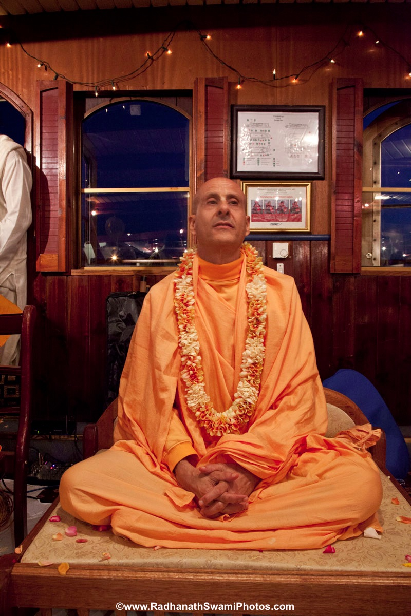 Radhanath Swami in London