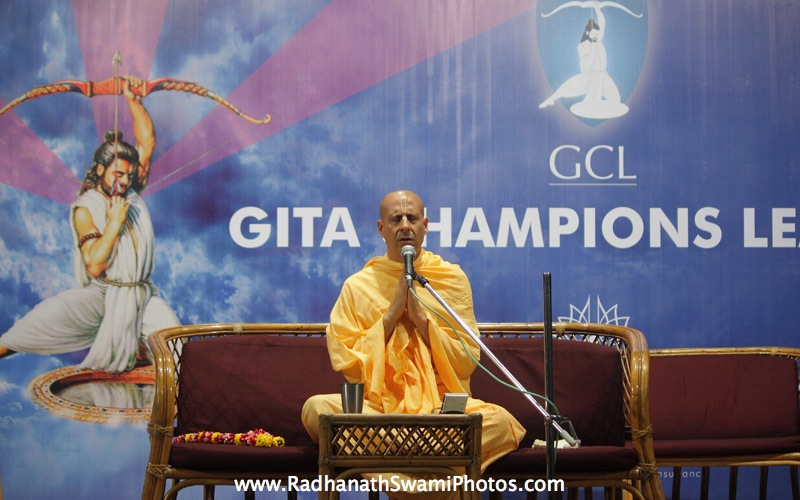 Talk by Radhanath Swami at GCL Prize Distribution
