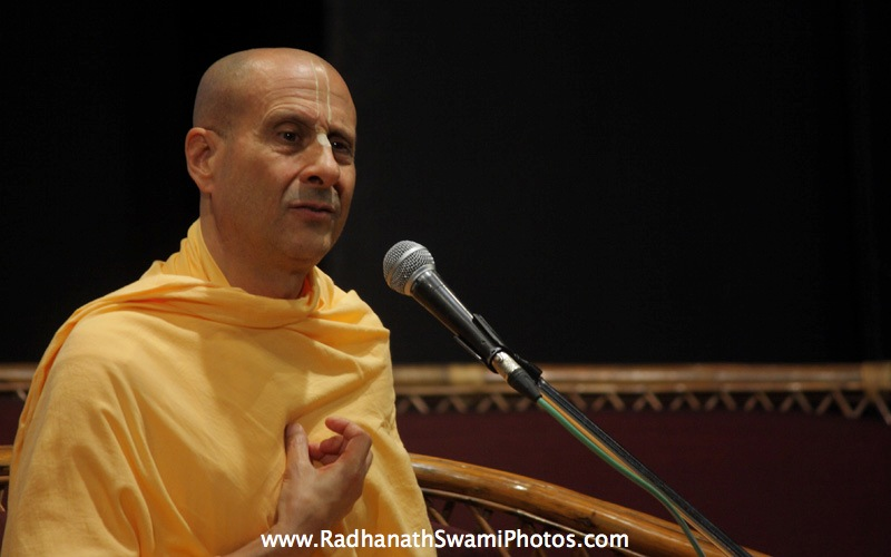Talk by Radhanath Swami during GCL Event