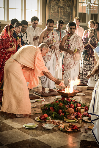 HH Radhanath Swami - Initiation Ceremony