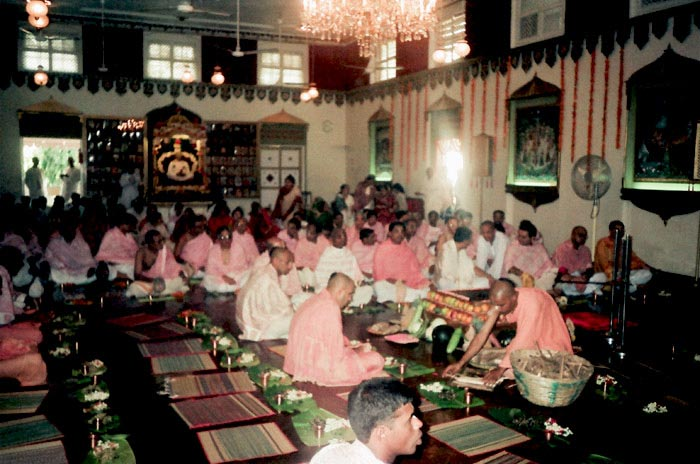 Initiation Ceremony - Swami Radhanath