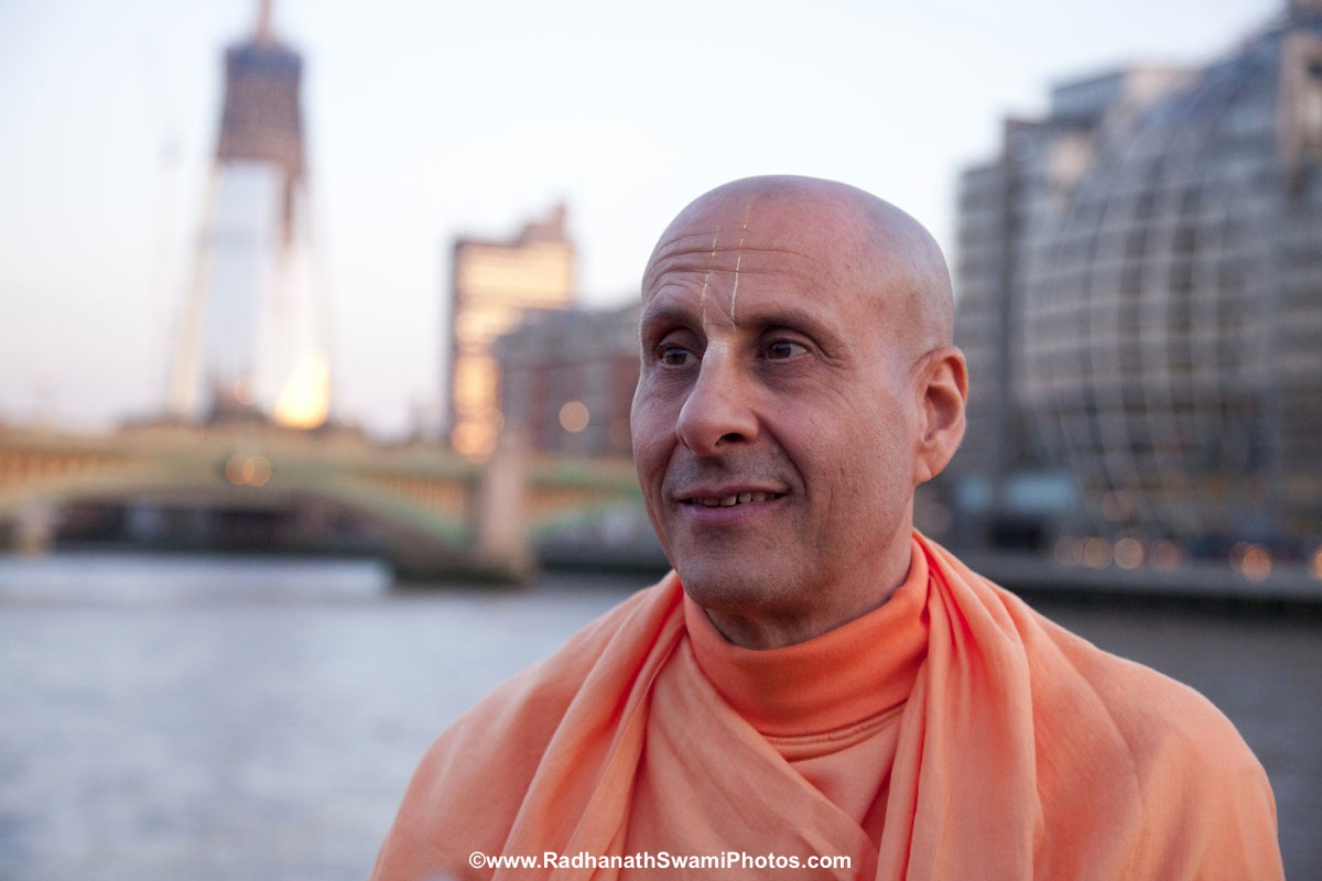 Radhanath Swami - in London