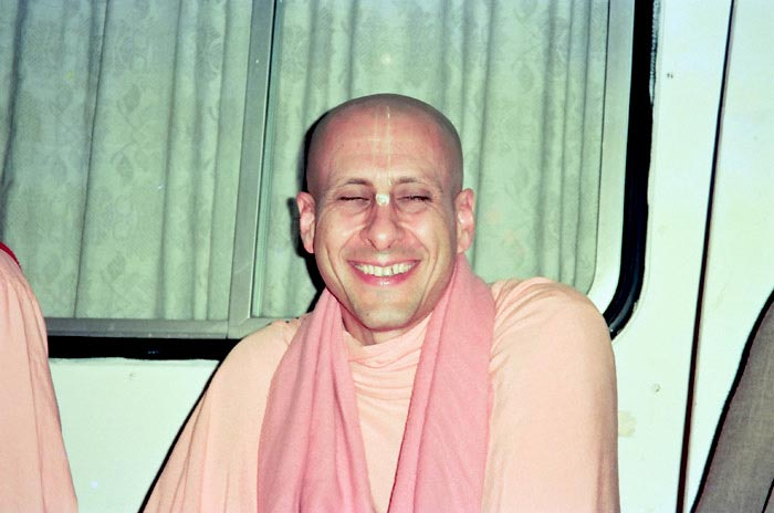 Radhanath Swami Laughing