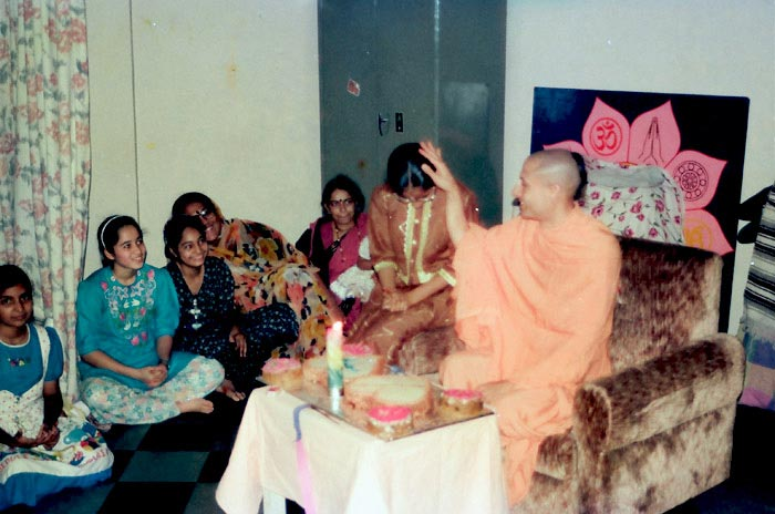 Radhanath Swami with Children