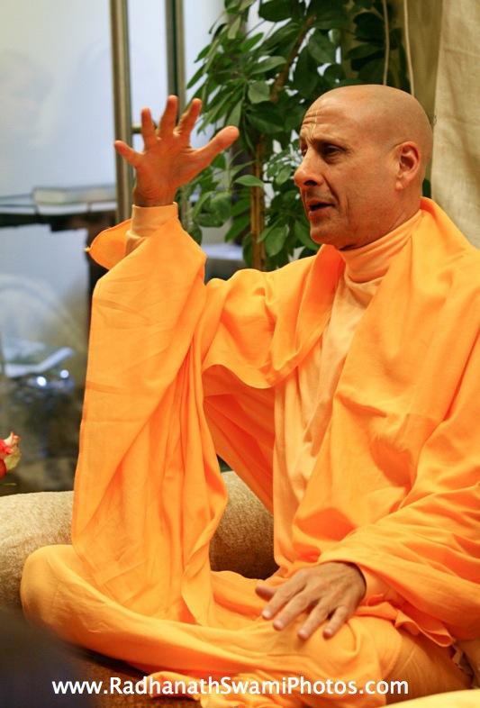 Radhanath Swami Image