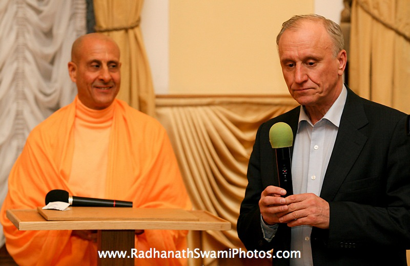 Radhanath Swami in Central Strategy
