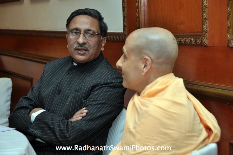 Radhanath Swami During Bangalore Book Launch