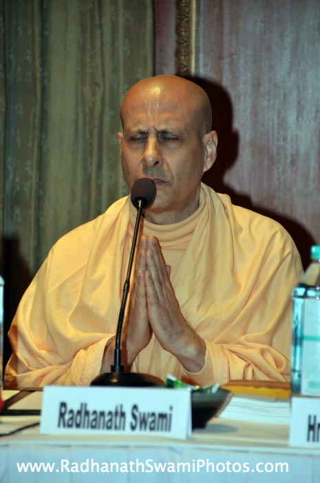 Radhanath Swami at Bangalore Book Launch