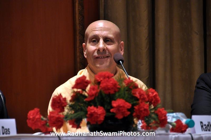 Talk by HH Radhanath Swami duing Book Launch