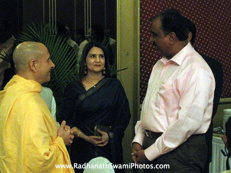 Radhanath Swami during Ali De Nam Mane Book Launch
