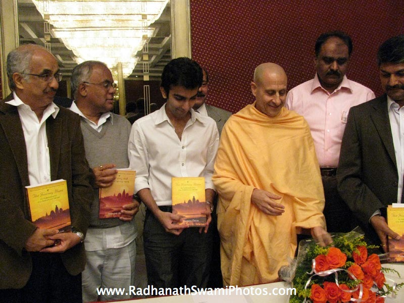 Ali De Nam Mane book Launch by Radhanath Swami