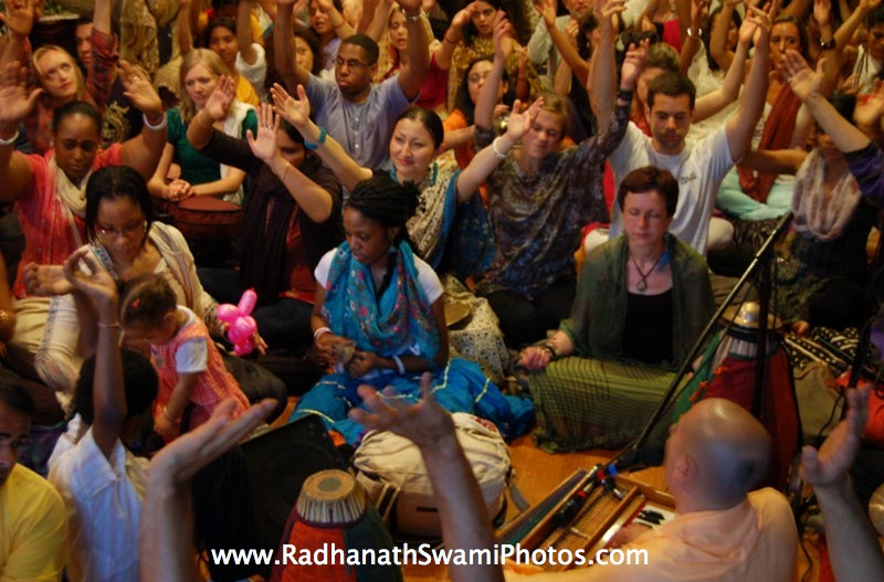 Radhanath Swami at Bhakti Center, New York