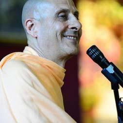 Radhanath Swami visit at Gita Nagari, USA