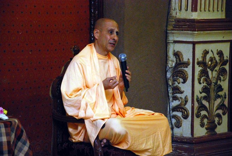 Talk by HH Radhanath Swami to Harvard University Students
