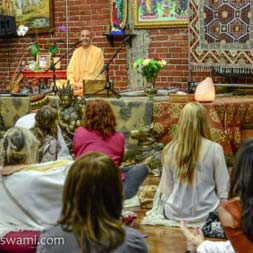 Radhanath Swami at Golden Bridge Yoga