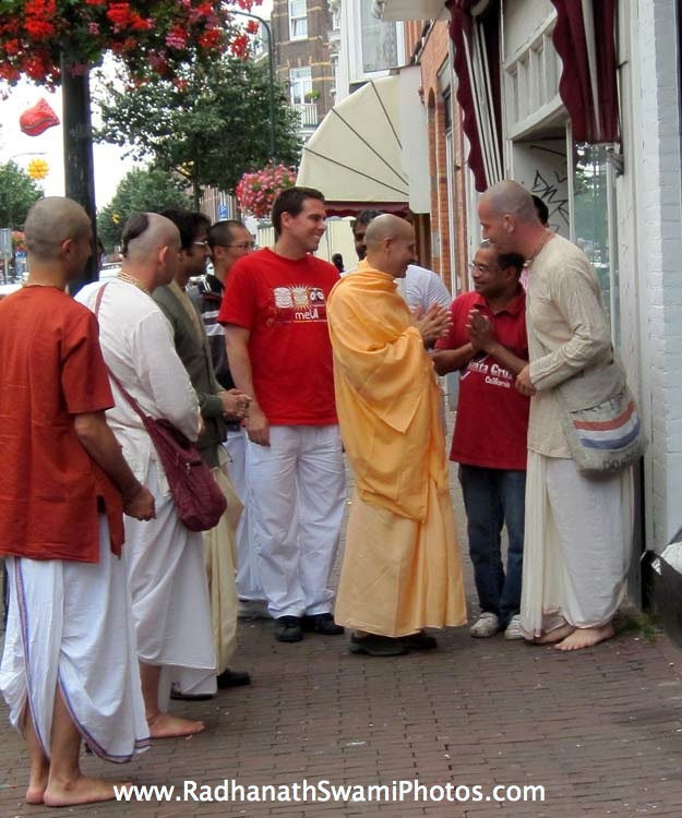 Swami Radhanath in Holland