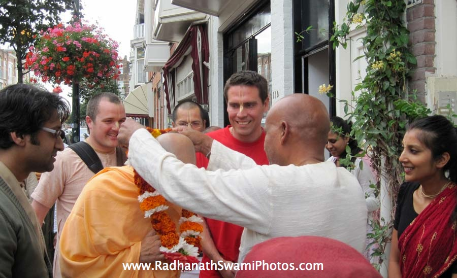 Radhanath Swami at Den Haag, Holland