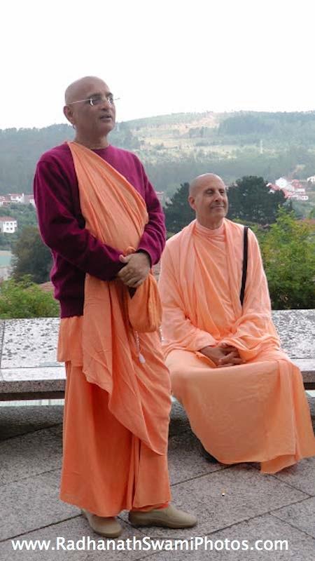 Radhanath Swami and Bhakti Charu Swami
