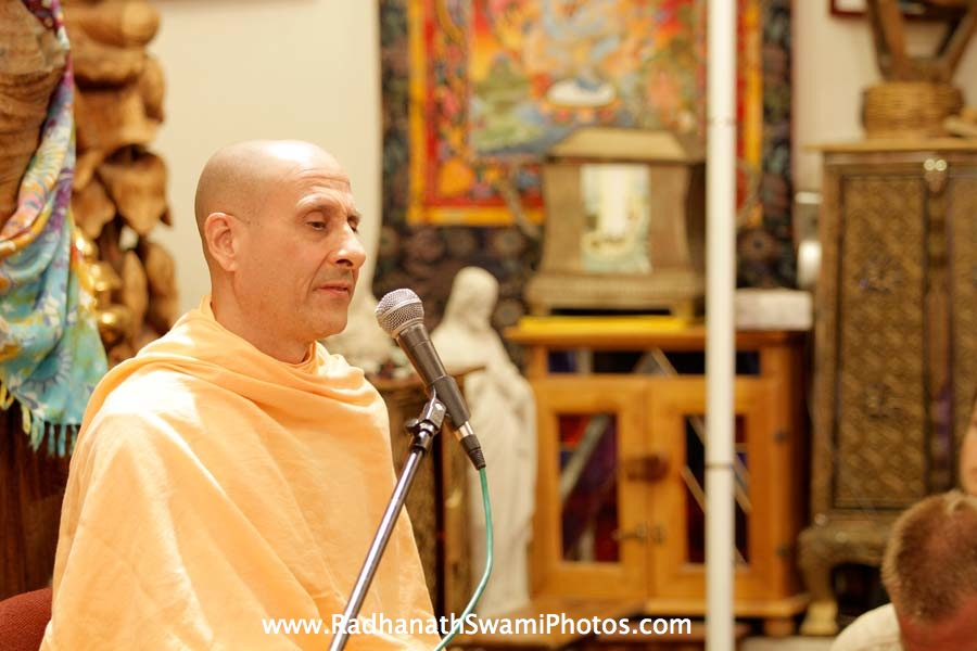 Radhanath Swami at California