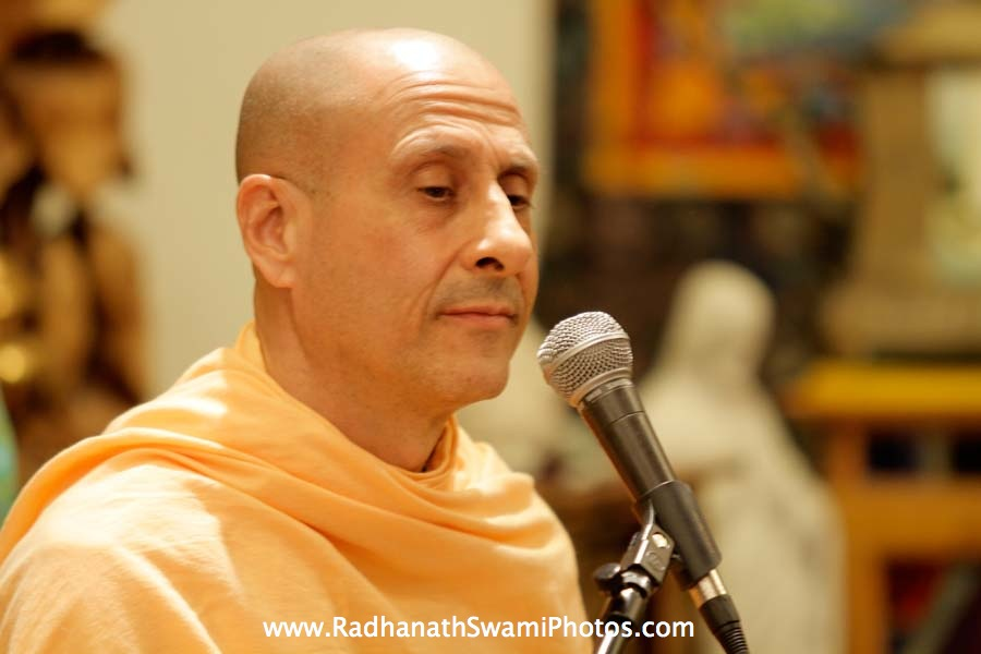 Radhanath Swami at Book Store