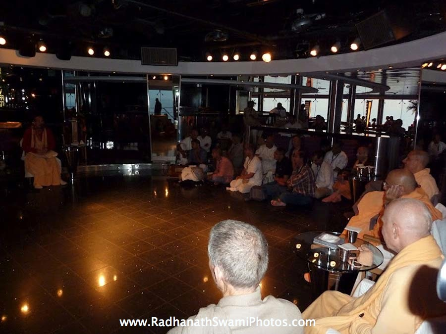 Talk by Sacinandana Swami at Cruise
