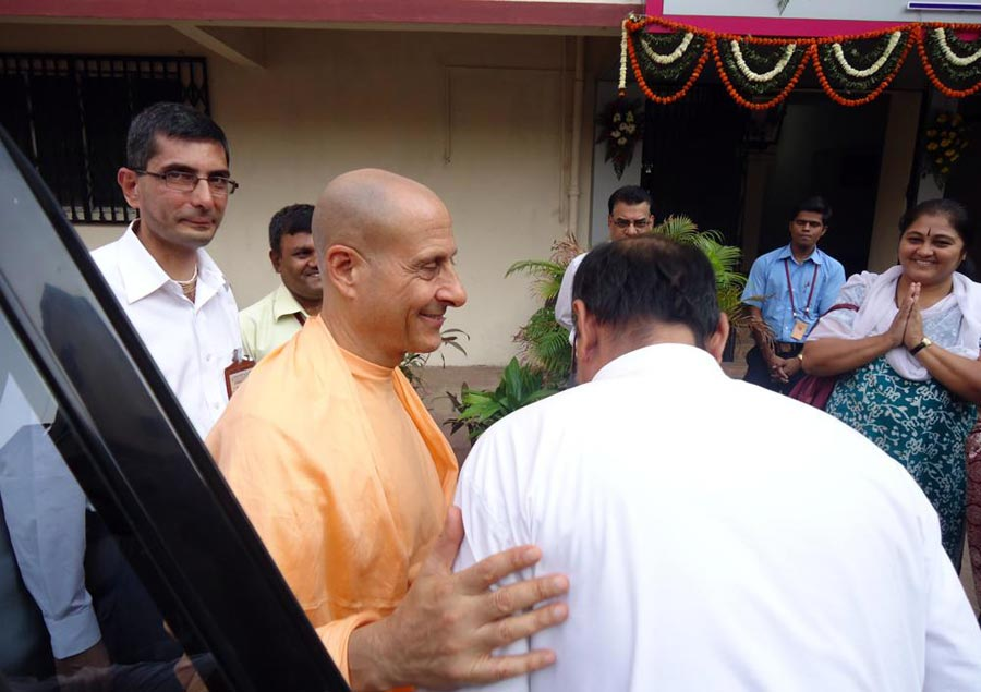 Radhanath Swami in Mumbai, India