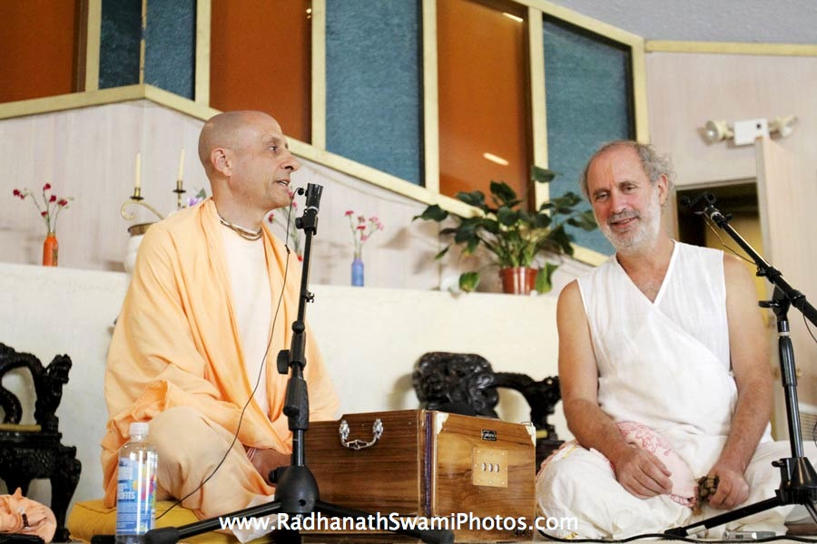 Radhanath Swami and Shyamdas