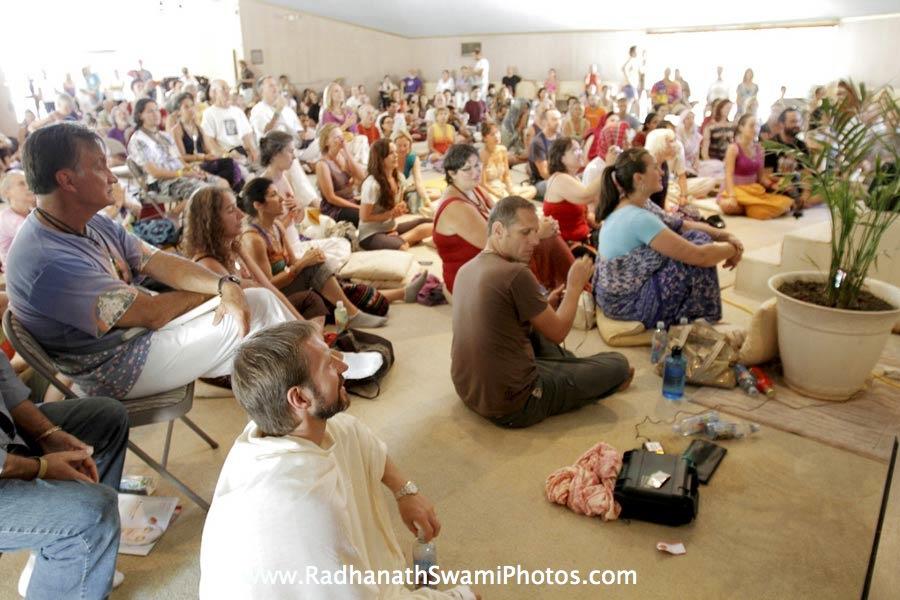 Radhanath Swami at Bhaktifest, USA