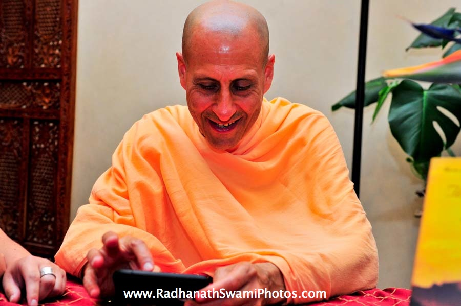 Swami Radhanath in Los Angeles, USA