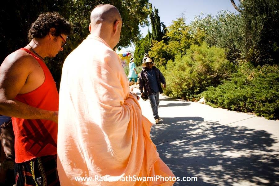 Radhanath Swami with Narayan Prabhu