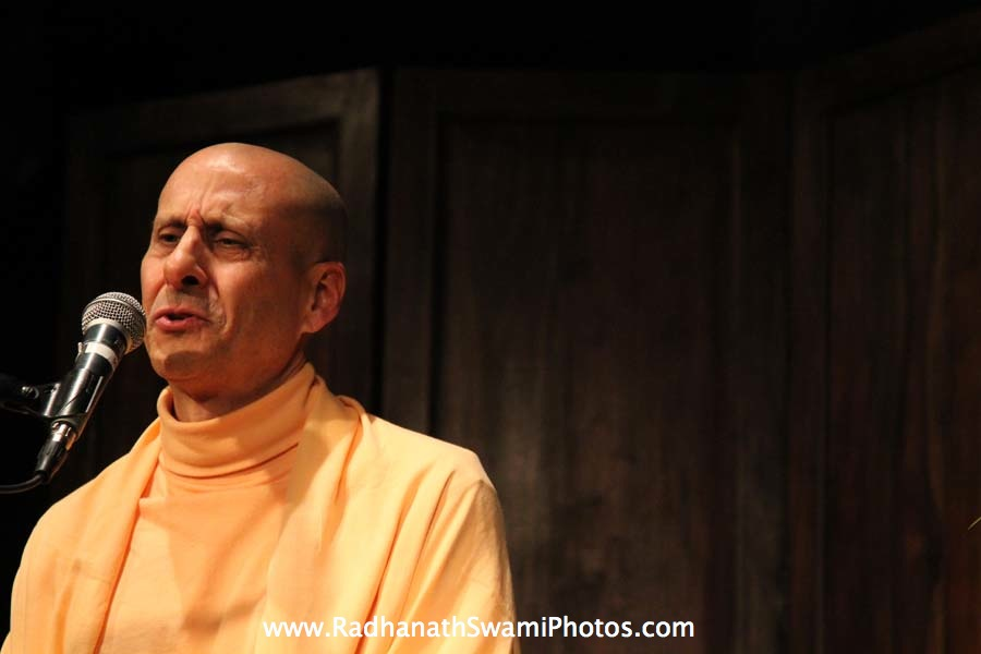 Radhanath Swami in Washington DC