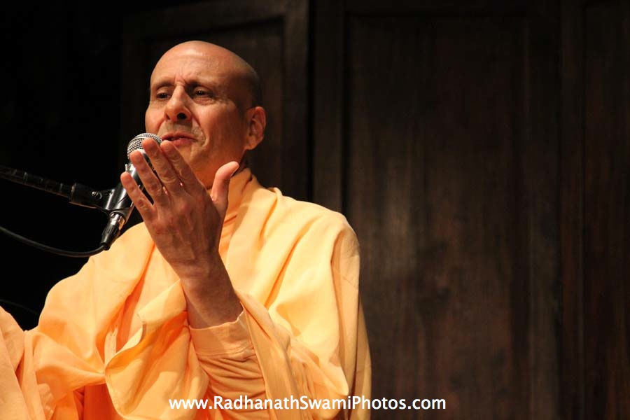 Radhanath Swami at Busboys & Poets Restaurant
