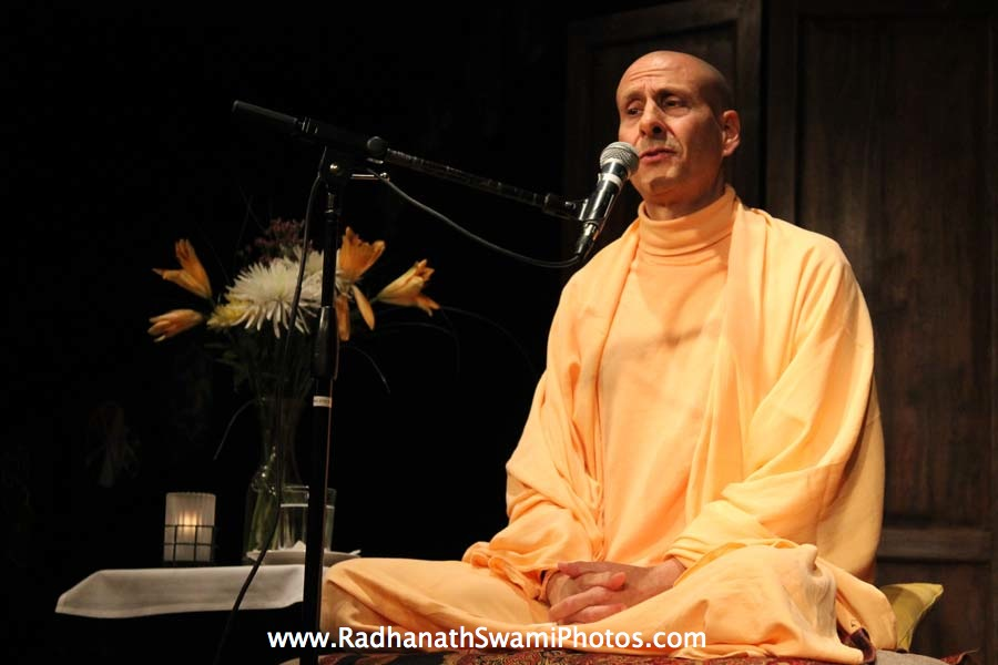 Swami Radhanath in Washington DC