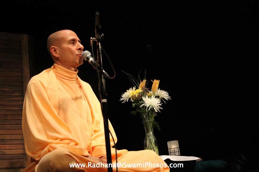 Radhanath Swami in USA