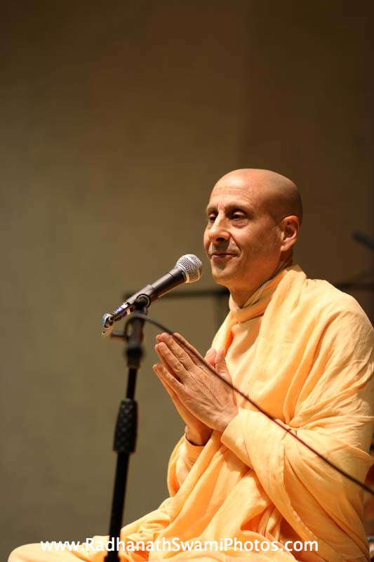 Radhanath Swami in Boston University