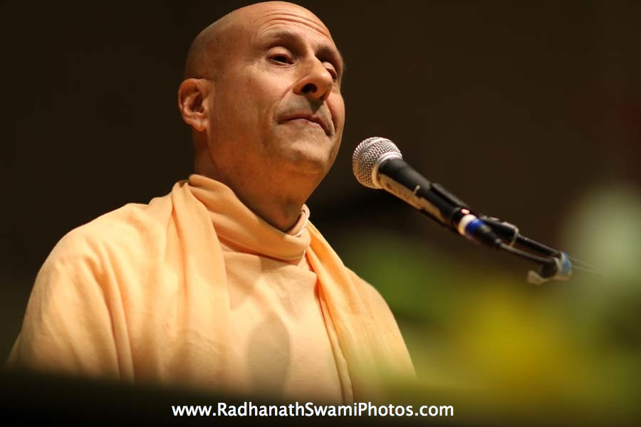 Radhanath Swami at Boston University
