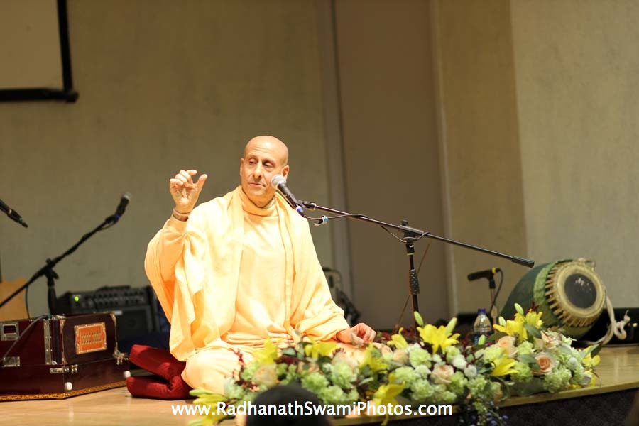 Talk by HH Radhanath Swami at Boston University Holistic Yoga Club