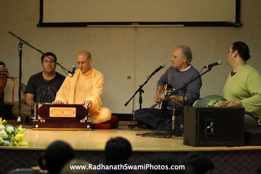 Radhanath Swami and Richard Davis