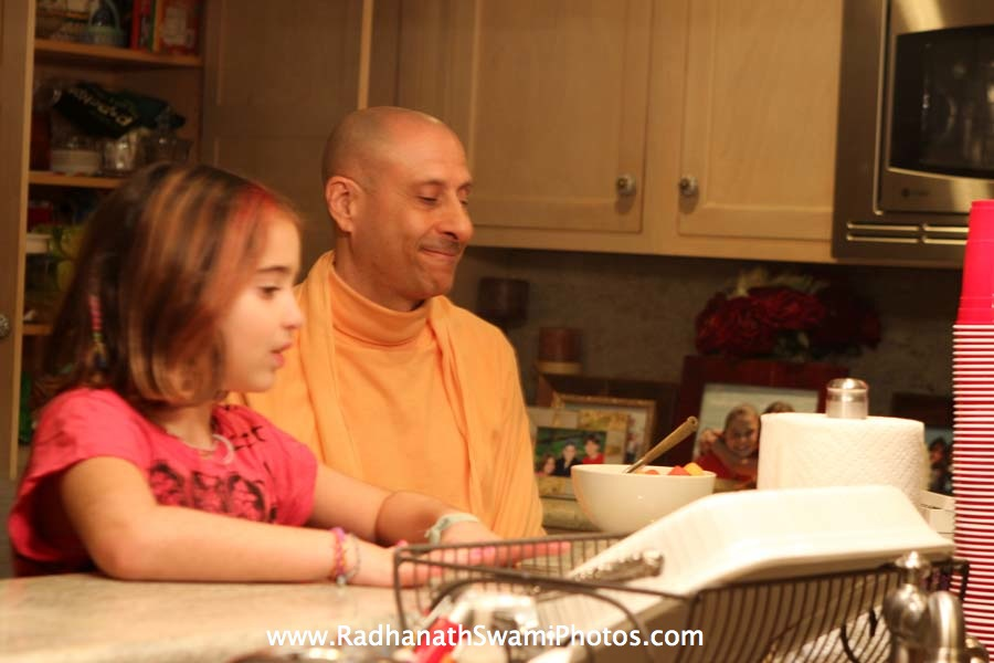 Radhanath Swami at Elkins Estate