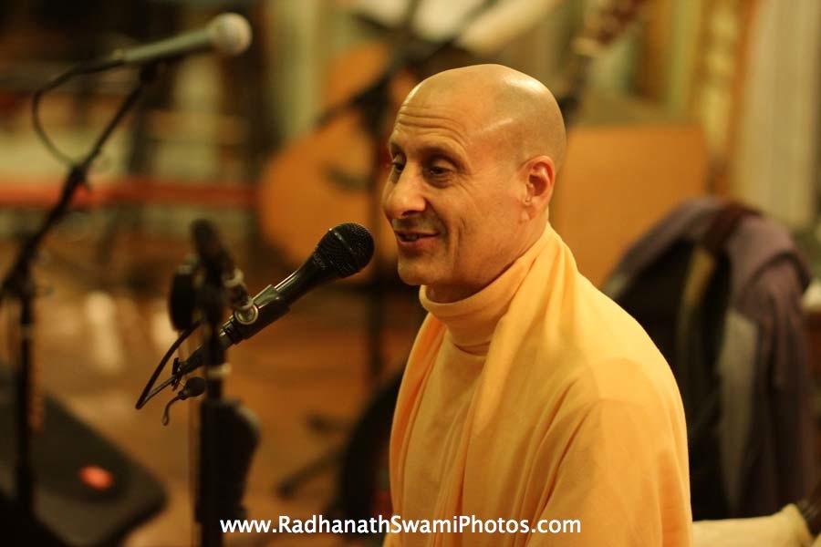 Radhanath Swami at Elkins Estate